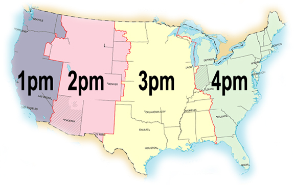 General Information - Ohio state time zone